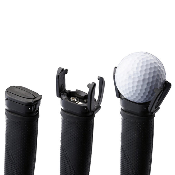 best selling Wholesale- New Design Mini Golf Ball Retriever Device Automatically Pick Up Ball Retriever Golf Accessories Training Aid Products
