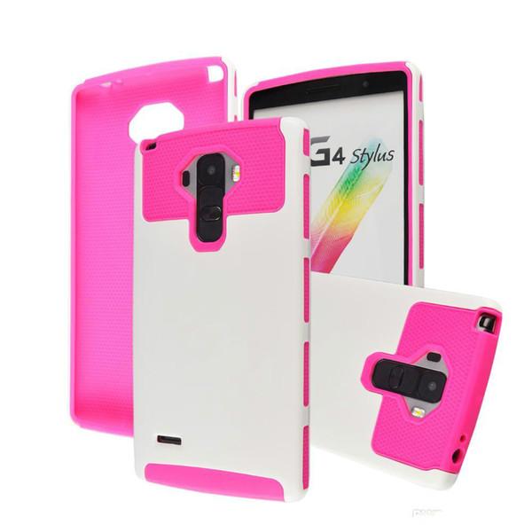 Hybrid cell phone Cover Case for LG G4 Stylus G4 note K7 LEON C40 LS770 Hard Back cover fu