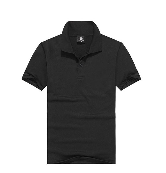 best selling Men's spring summer short sleeveless T-shirt T-shirt semi-sleeve ball cotton blank men's black coat