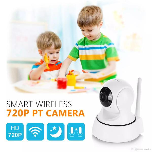 Hight qualité SANNCE Home Security Sans Fil Mini Caméra de Surveillance IP Caméra Wifi 720 P Vision Nocturne CCTV Caméra Bébé Moniteur livraison gratuite