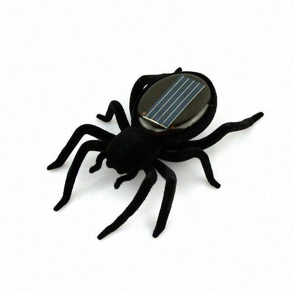20PCS Spider Model Educational Solar Powered Spider Robot Toy Gadget Gift