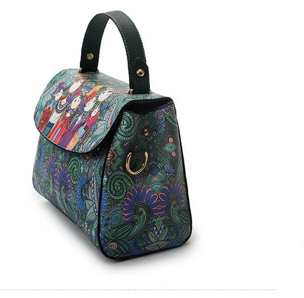Korean Version Of The Fall And Winter Section Of The Bag 2017 Wild Cross  Messenger Department Of Forest Ladies Portable Shoulder Bag Handbag  Handbags