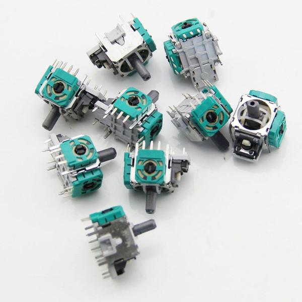 Kostenloser Versand Ursprüngliche Neue Analoge joysticks Controller 3D Thumbstick Ersatzteile für XBOX ONE SLIM Controller Grün