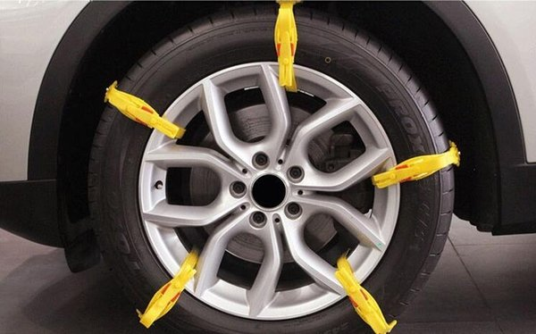 TPU Snow Chains Universal Car tire Winter Roadway Safety Tire Chains Anti slip Climb Mud road Anti-Slip