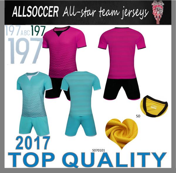 Grosshandel Factory Product Fussballtrainingstrikots Fussball Sets Fussballuniformen Basteln Sie Ihre Design Logos Tragen Sie Fussball Bekleidung