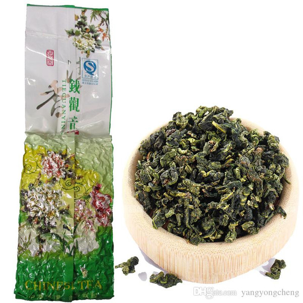 top popular 250g Promotion Vacuum package Premium Fragrant Type Traditional Chinese Milk Oolong Tea TiKuanYin Green Tea Health Care TieGuanYin Tea 2019