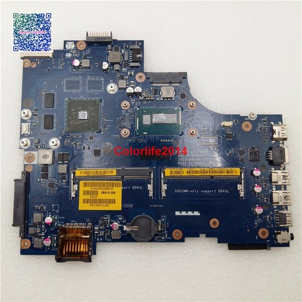 I5-4200U LA-9983P YFK6X CN-0YFK6X For Dell Inspiron 3737 5737 Motherboard with Discreet Graphics Card HP8600M Fully tested & Working perfect