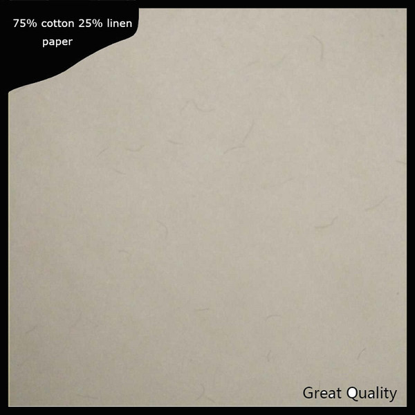 (JQ1720040604)200 sheets anti-counterfeitin printinng paper 75% cotton 25% linen pass pen test paper high quality with colored fiber A4 size
