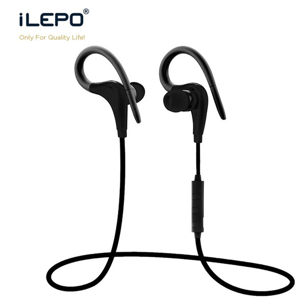 New S9 Bluetooth Sport Earphone Wireless Earbuds Hook Neckband Headset Stereo For Universal Cell Phone with Mic Hifi Sound