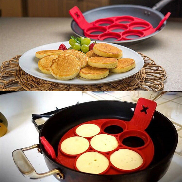 2017 Non-stick Flippin Fantastic Non-stick Pancake Maker Manufacturer Egg Ring For Kitchen