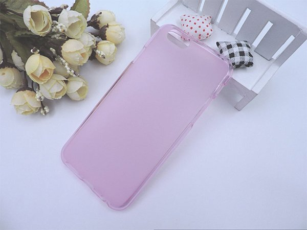 For Iphone 5 5S SE 6 6S 7 Plus 8&8G Matte skin Clear Crystal Soft TPU Gel Jelly back cover case 50pcs 100pcs 200pcs
