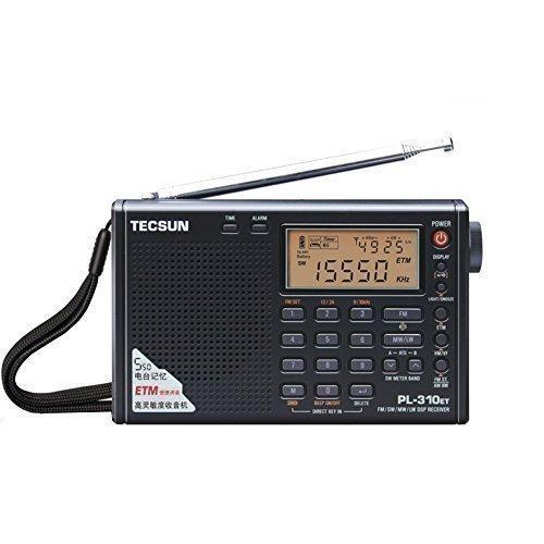 Wholesale-Tecsun PL-310ET Full Band Stereo Radio Digital Demodulator FM/AM/SW/LW PLL DSP Radio New Arrival Hot