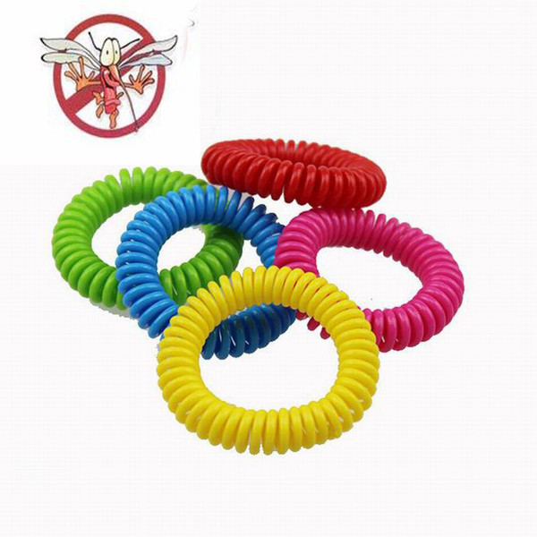 best selling Multi-color Elastic Repellent Bracelet Natural Vegetable Oils Phone Strap Elastic Hand Ring Mosquito Anti-mosquito Strong Spring Wholesale