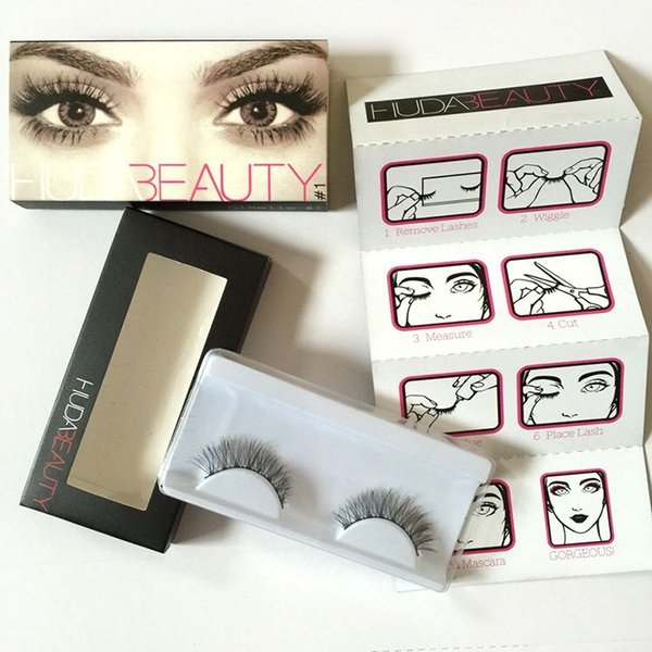 1 Pair 3D Style handmade Fake Lashes Beauty Makeup Handmade Thick Natural False EyeLashes Cosmetic Fake Eyelashes#1-#8