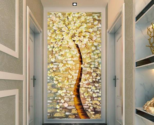 Großhandel 2017 Neue Neueste Schlafzimmer Tapete Tapete Flur Korridor Flur  Tapete 3D Hintergrund Wand Papier Licht Augen Bild Von Kylintu, $57.27 Auf  ...