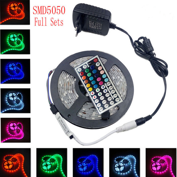 5m 5050 rgb led strip light non waterproof led light 300led flexible 5m 5050 rgb led strip light non waterproof led light 300led flexible diode led tape set mozeypictures Image collections