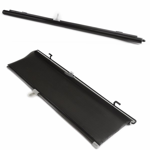 Wholesale- Universal 58x125cm Auto Accessories Retractable Side Window Car Sun shade Curtain Automatic Sunscreen Roller Blinds Window Film