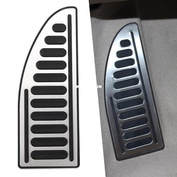 Repose-pieds Repose-pieds Pédale Couvre-pédale en acier inoxydable 1pc par set Pour Ford / Focus 2 / focus 3 / Fiesta / Mondeo / Kuga