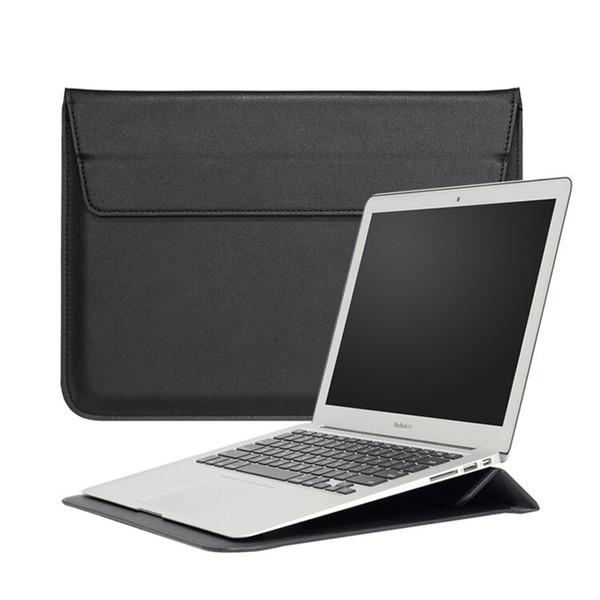 Funda para Macbook con soporte Funda para portátil Cuero brillante de la PU Para Macbook 11Inch 13Inch 15Inch Pro Retina OPP BOLSA