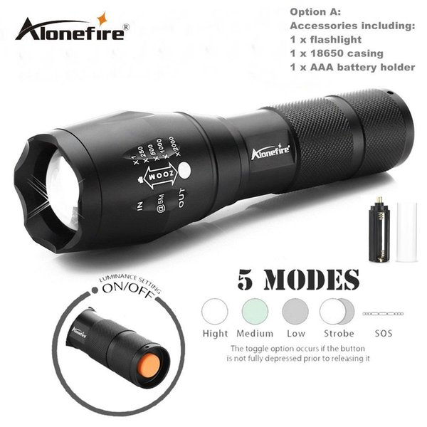 flashlight A