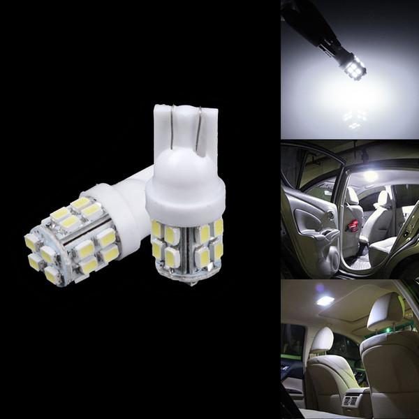 H4 auto 10pcs luce per automobile lampada lampadina luce bianca resistente nuovi