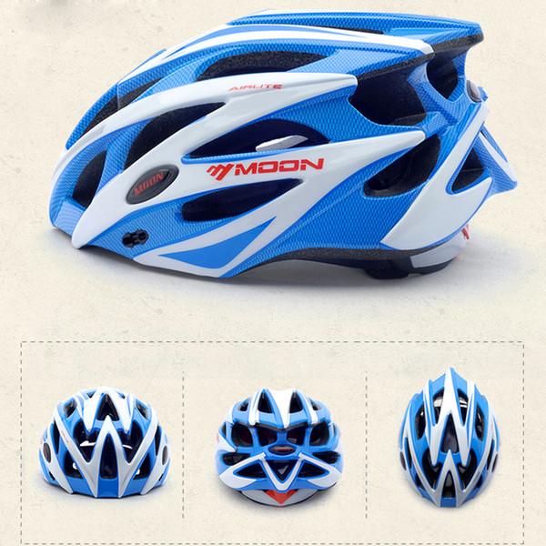 Ay Bisiklet Kask Ultralight Ve Entegral Kalıplı Profesyonel Bisiklet Kask 275g 25 Delik Boyutu M 55-58 cm L 58-61 cm