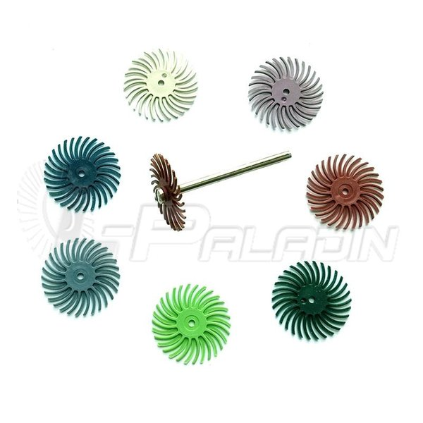 8 pieces Abrasive Point Slot Grinding Head Wood Carving Mirror Polishing Dremel Rotary Tools Accessories 1 pieces 3mm Mandrel