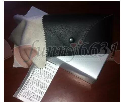 best selling MOQ=10 new women and men sunglasses box bag case cloth glasses original box free shipping