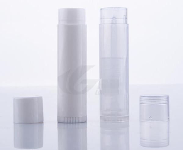 5g PP Lipstick tube Lip balm tube plastic pipe, DIY, plastic pipe, PP lipstick tube WHOLESALES FREE SHIPPING