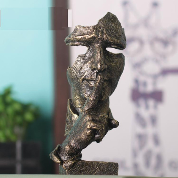 Face Sculpture Statue Abstract Modern Art Deco & free shipping 2018 ...