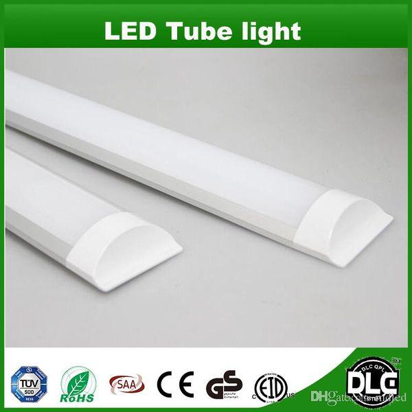 Luz à Prova de Explosão à Prova de Tri-Light Tubo Batten 2ft 3ft 4ft 10 W 20 W 30 W 40 W LED Tubo Luzes Substituir Teto Luminária Fluorescente Luminária