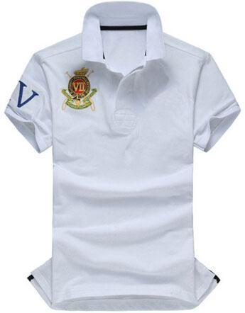Top Express 2017 Golf Polos VII men casual polo shirt Big Horse men Summer European style Club polo Shirts homme camisa