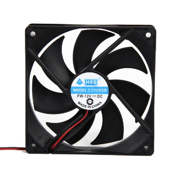 Toptan-En iyi fiyat 1 adet 120mm 120x25mm 12 V 4Pin DC Fırçasız PC Bilgisayar Kasası Soğutma Fanı 1800PRM