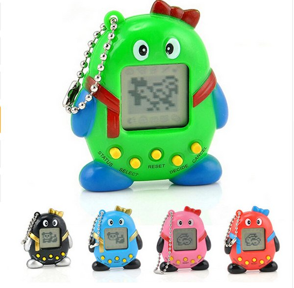 Newest hot sale Penguin Retro Game Toys Pet In One Funny Toys Vintage Virtual Pet Cyber Toy Tamagotchi Digital Pet Child Game Kids Baby Toys