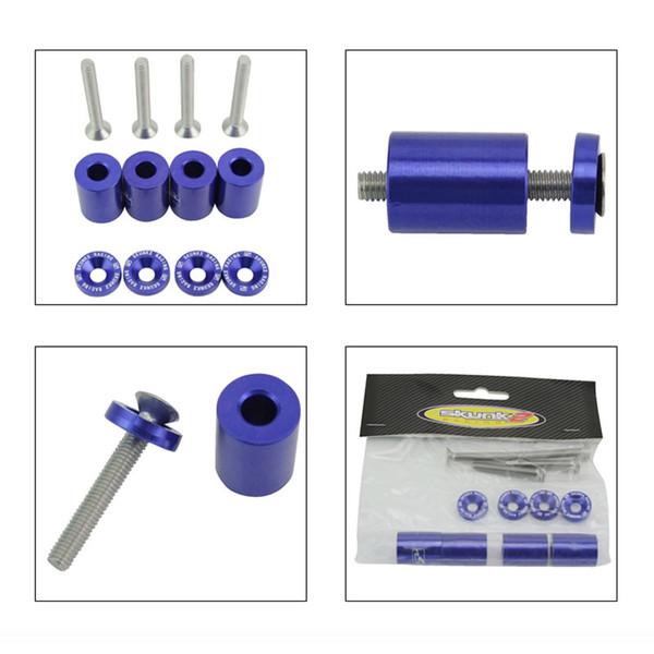 "Red 6MM 1/"" Billet Hood Vent Spacer Riser Kits For Turbo//Engine//Motor Swap New"