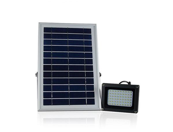 10pcs 6V 6W Solar Panel 54 SMD3528 LEDs IP65 Waterproof Outdoor Garden Street Solar LED Floodlight Spotlight Lamp