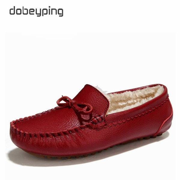 Adult Men & Women Leather Casual Driving Flat Moccasins Loafer Shoes