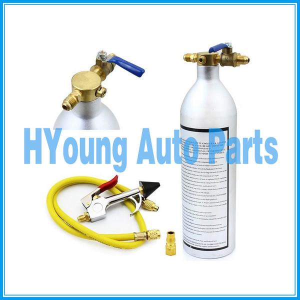 best selling auto Air Conditioner System Flush Canister Gun Kit R134 R12 R22 R410 R404
