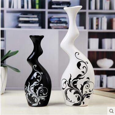Modern minimalist Flower Vase Decoration living room Home Furnishing creative TV cabinet ceramic handicrafts