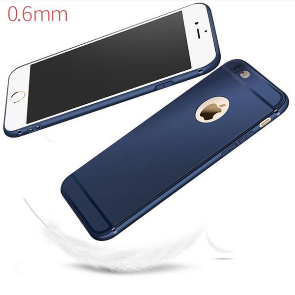 Per iPhone X satinato Matte Matte TPU Case impronte digitali a prova di polvere di colore della caramella Casi per iPhone 5s se 6 6s plus 7 plus 8