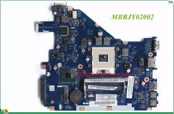 High Quality MB MBRJY02002 For Acer Aspire 5742 5733Z Laptop Motherboard PEW71 LA-6582P rPGA988A HM55 DDR3 100% Tested