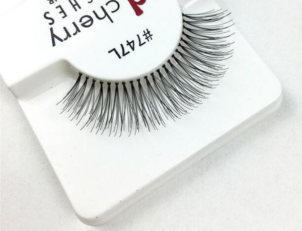1 Pairs RED CHERRY False Eyelashes Natural Long Eye Lashes Extension Makeup Professional Faux Eyelash Winged Fake Lashes Wispies #747L