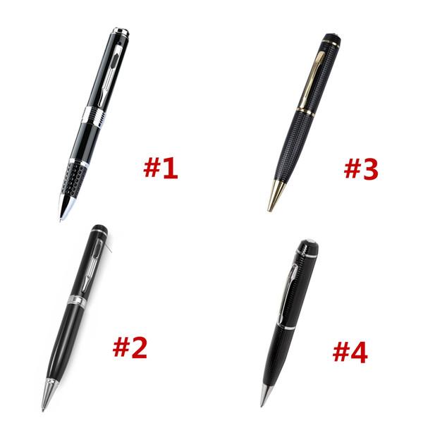4 модели 1080p30FPS ручка записи видео камеры карманы Mini DVs портативная видеокамера Real HD Voice Video Image Recorder