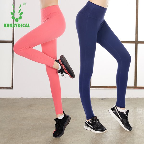 2436c2cd19e 2017 New Sex high Waist Stretched Sport Pants Gym Clothes Spandex Running  Tights Women Sports Leggings