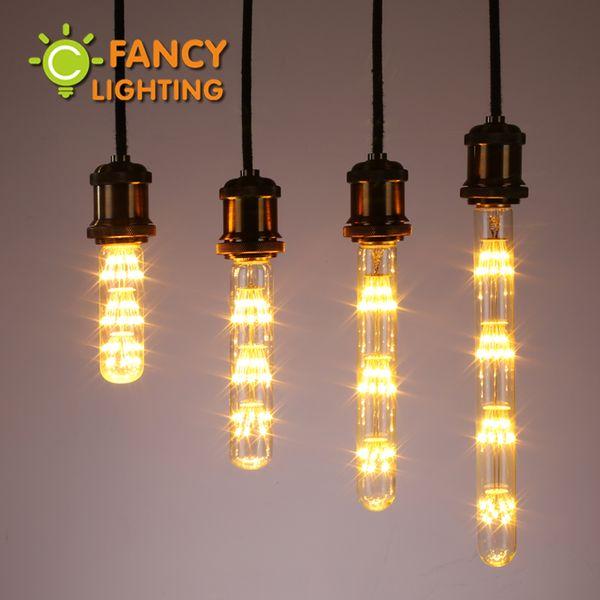 Wholesale-Led Glühbirne e27 Feuerwerk führte Lampe 110v 220v Rohr Birne 3w Lichterkette Neuheit Glühbirne Weihnachtsschmuck für zu Hause