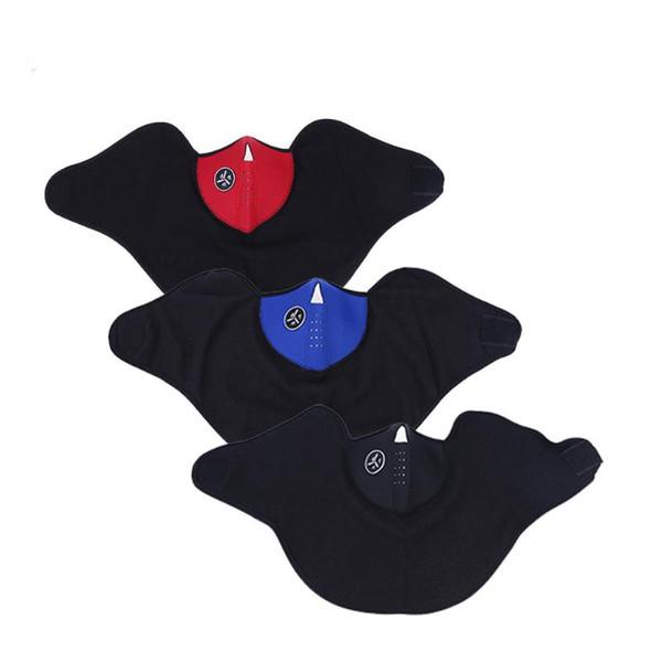 Großhandels-Fahrrad-windundurchlässige regendichte Gesichtsmaske im Freien Winter-warme Skifahren-Masken-eine Größen-Windschutzscheiben-Maske