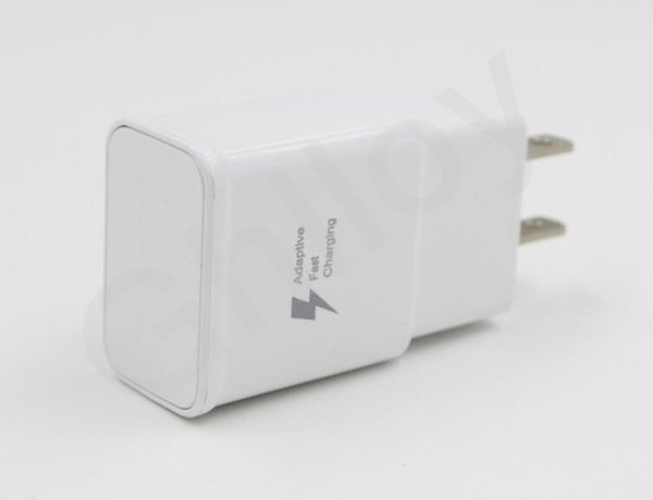Original OEM Samsung Galaxy S6 S7 Edge Note 5 EU US Adaptive Fast Charging RAPID Wall Charger TA20 9V 5V And 150cm fast charging cable