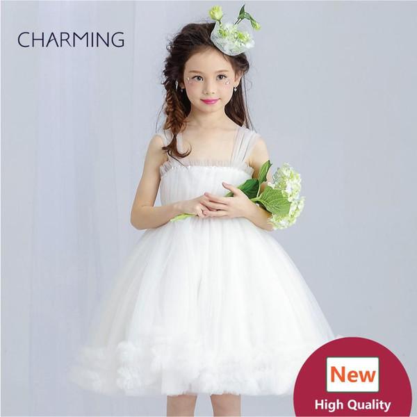 Knee length dresses Girls pageant dress High quality designer dresses real photo China wedding dress beach wedding dresses