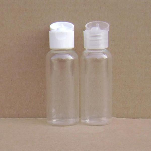 Atacado-Vazio Plástico Creme Garrafa Recarregáveis Loção Cosmética Embalagem Container Spice Oil Bottles Frete Grátis