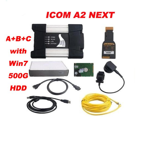 per bmw icom a3 pro Diagnosi ICOM NEXT con modalità esperto software v2017.05 Software ICOM A2